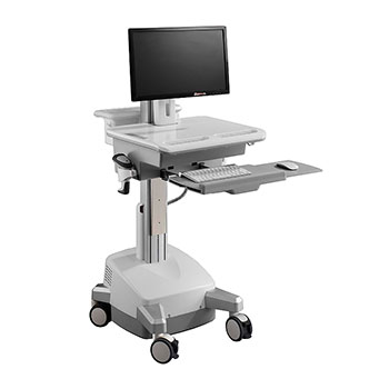 CAH01,Mobile Cart(Non Powered Monitor Arm usage, DIYPACKAGE)